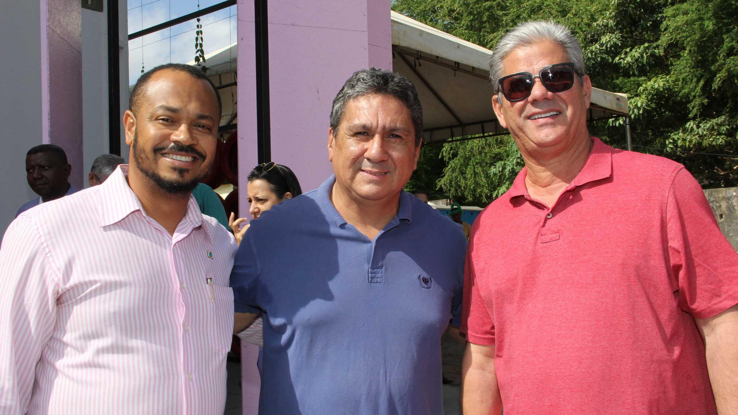 Sec. Mun. Rel. Parlamentares Raimundo Nonato Jr.; Miguel Pinheiro e José Augusto Telles.