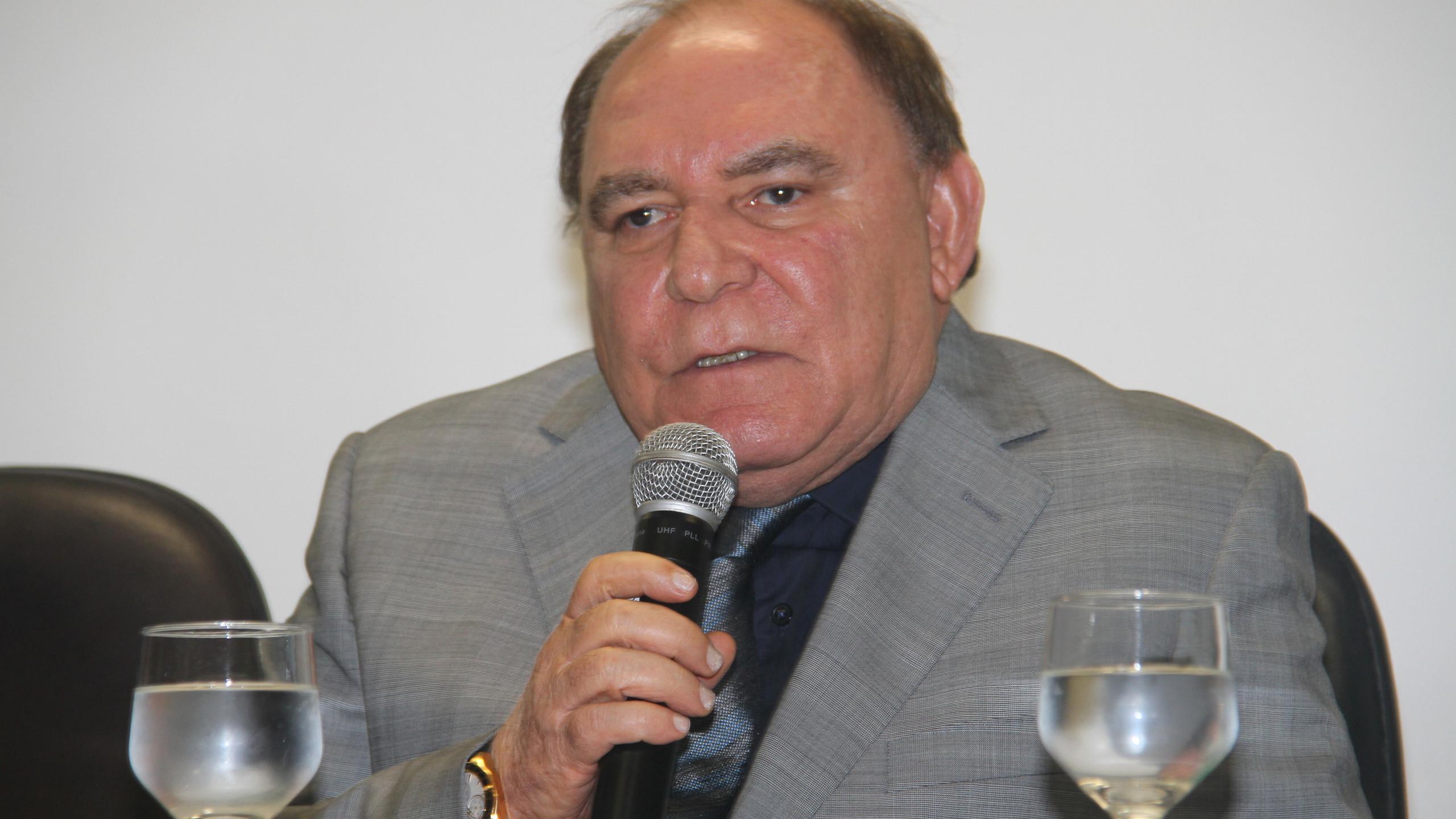 O Pres. do Conselho de Administração do Hospital São Luís Paulo Braide, que reafirmou o foco contínuo na oferta de serviços de excelência aos servidores do estado do Maranhão no HSLZ.