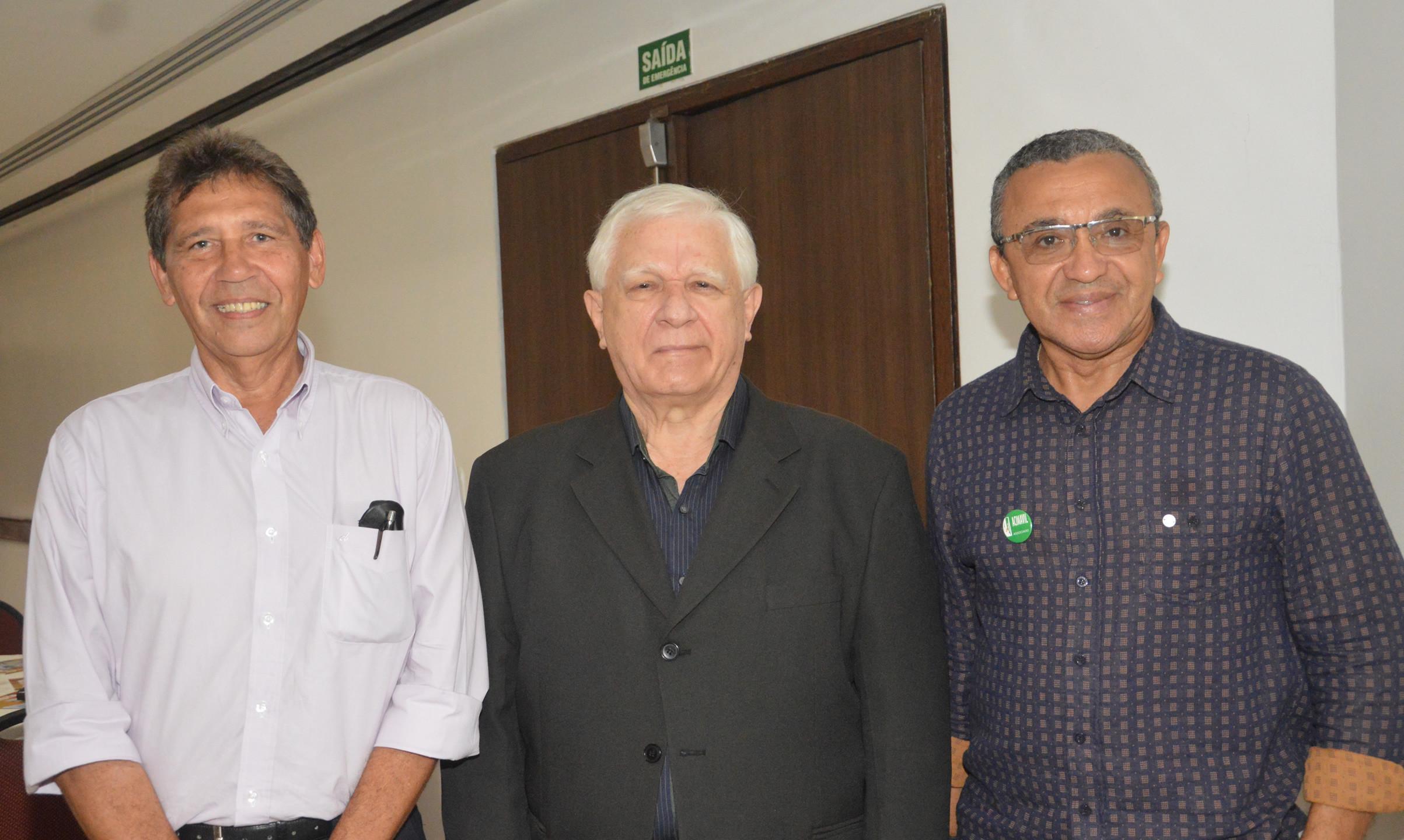 Haroldo Cavalcanti, José Lopes e Antonio Souza
