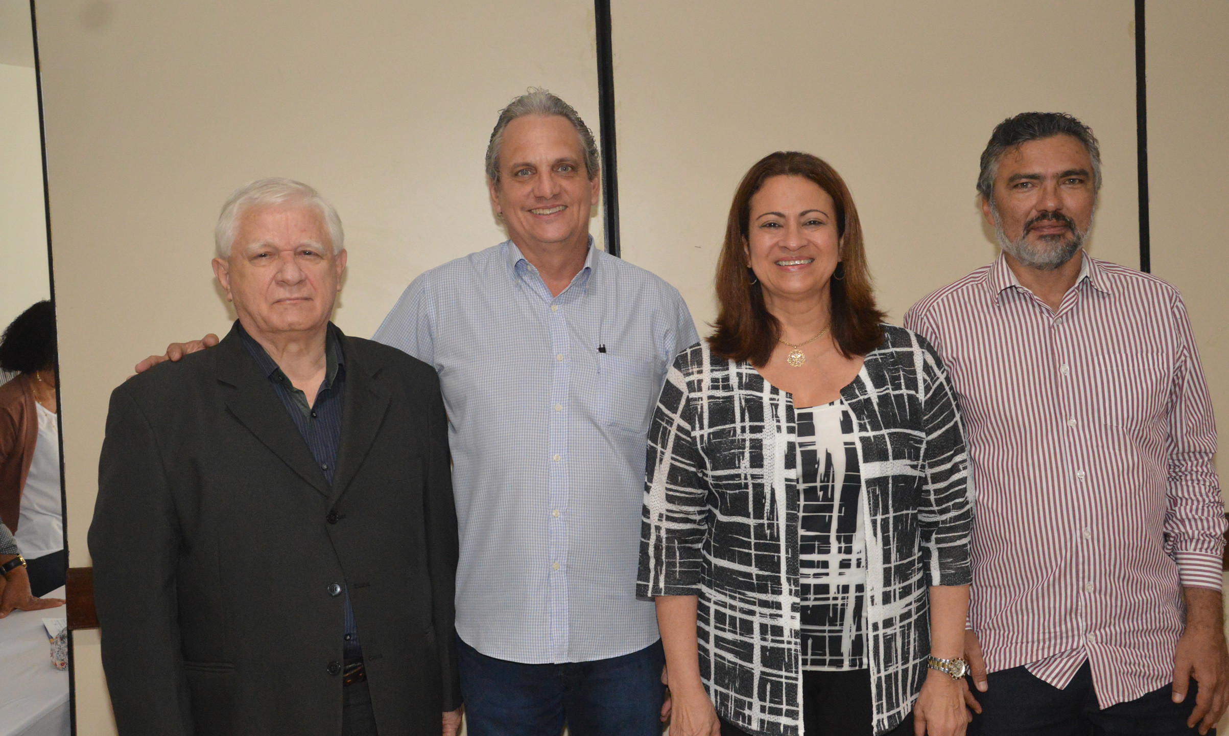 José Lopes, Marcelo Rezende, Léa Cristina Silva e Nauro Muniz