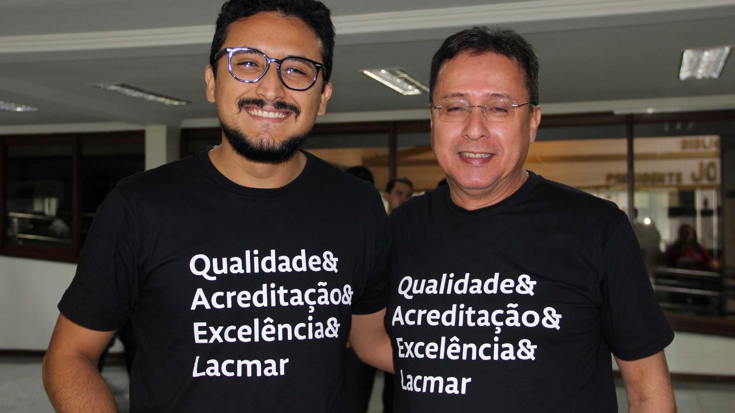 Diego Pinheiro e Ítalo Amin.