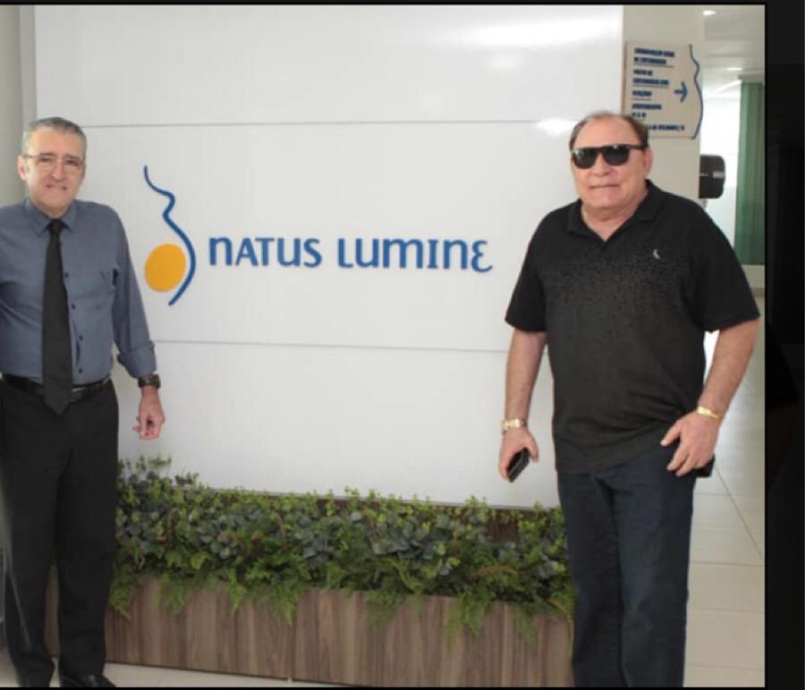 O Coordenador da Campanha Plínio Tuzzolo e o empresário Paulo Braid Ribeiro, acionista do Grupo Mercúrio.
