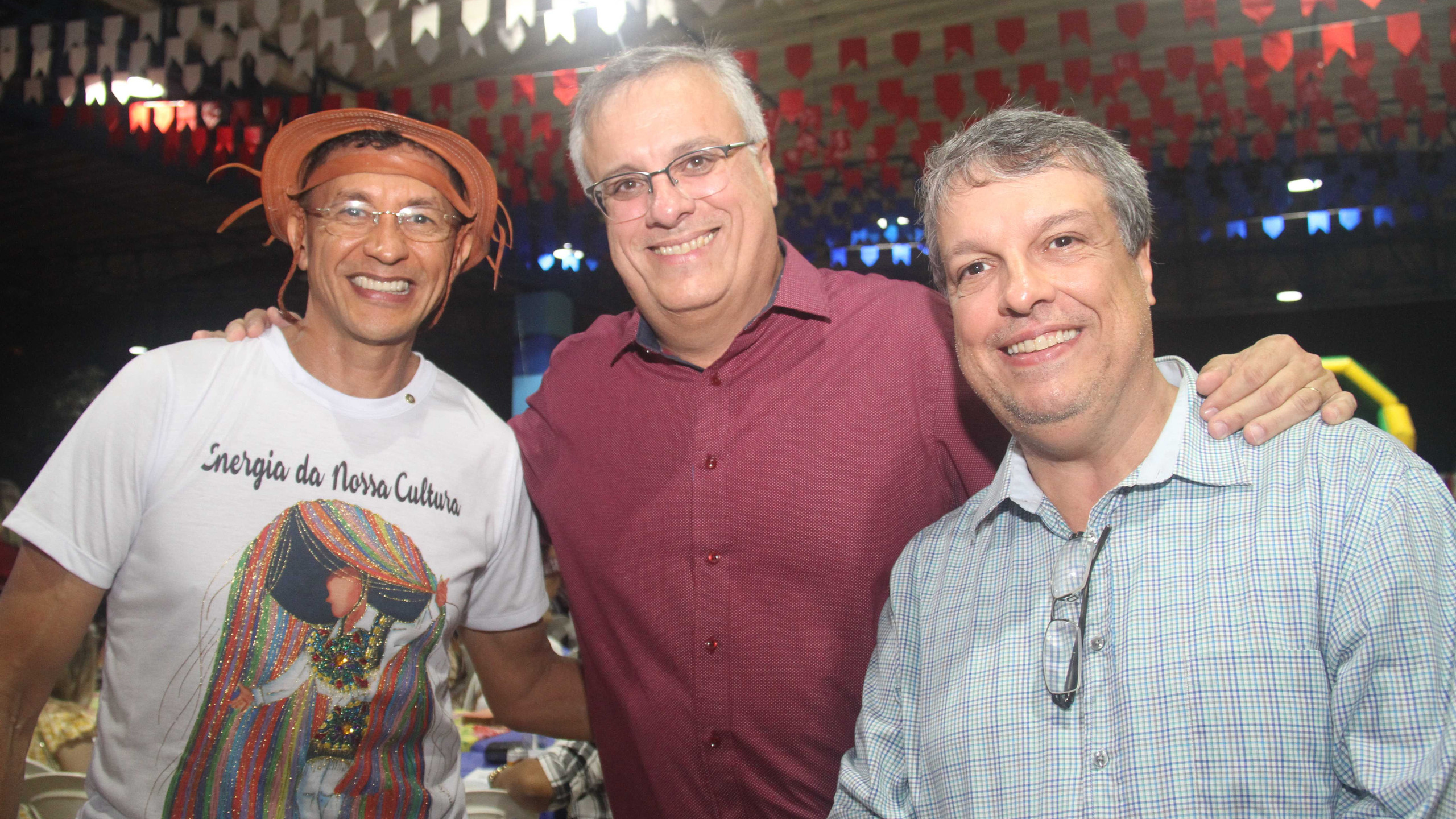 Luís Carlos Cardoso, Sérgio Mello e Paulo Medeiros.