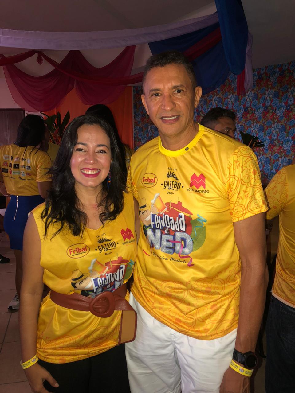Luana Furtado e Luiz Carlos Cardoso da Equatorial Energia MA.