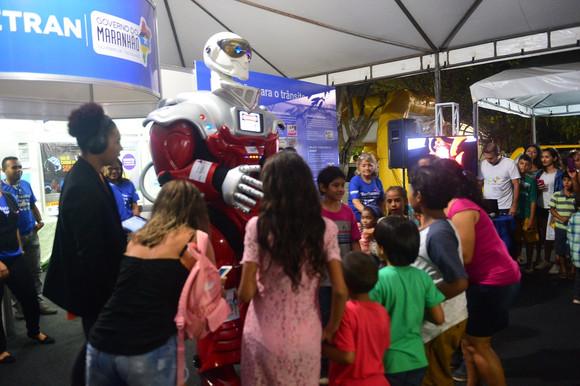 Estande do Detran-MA recebeu milhares de visitantes na Expoema 2017