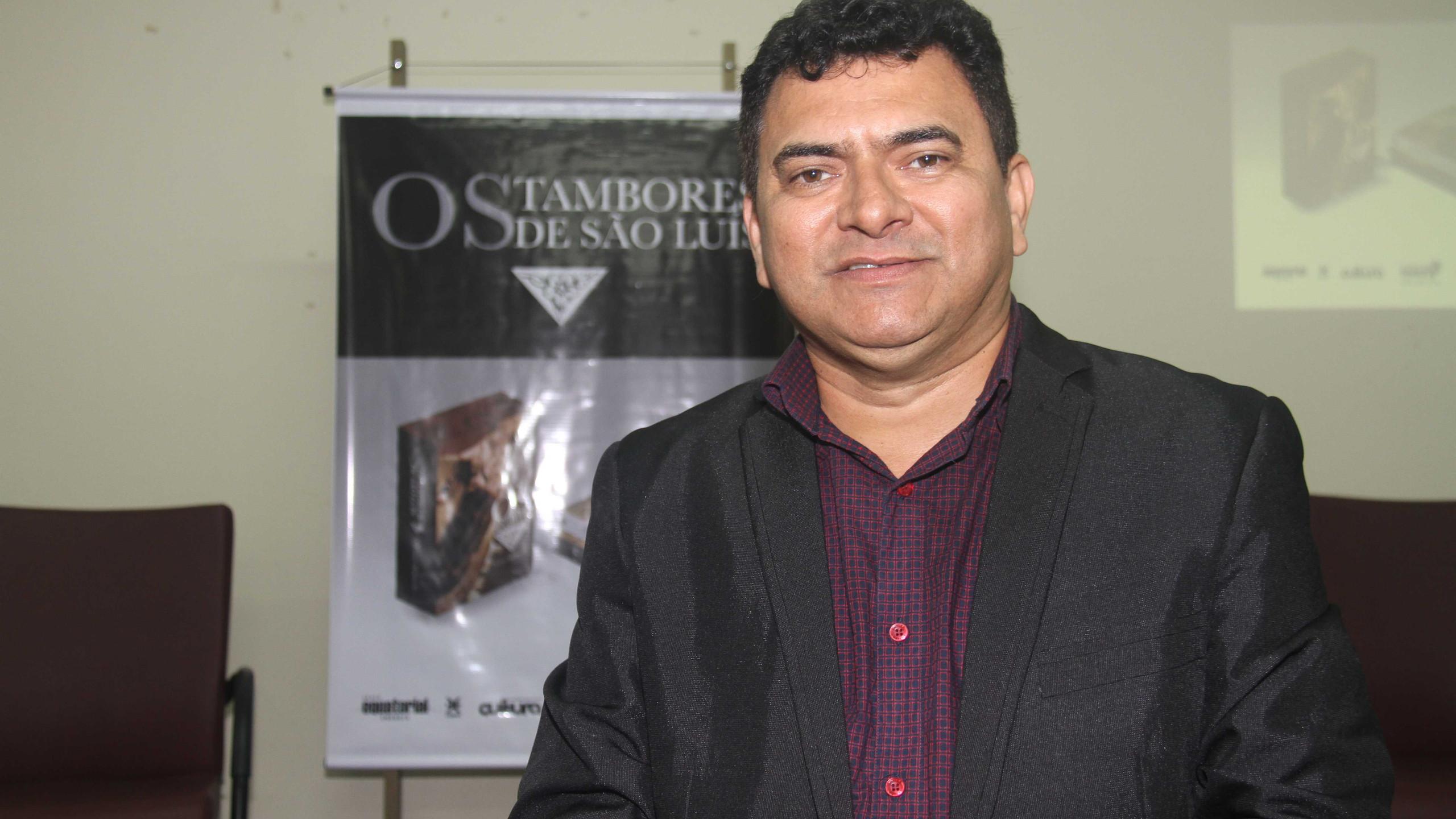 O Pres. da Academia Ludovicense de Letras Antônio Norberto.