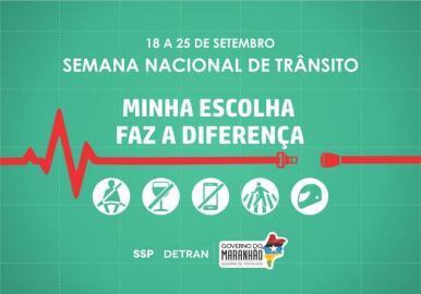 Detran-MA lança Semana Nacional do Trânsito nesta segunda-feira (18)