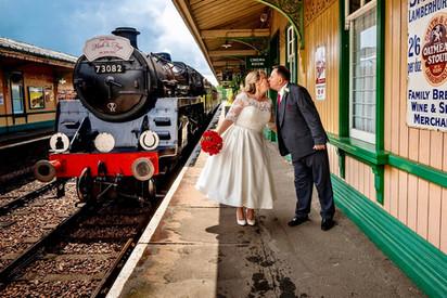 Platform Wedding
