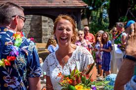 Hawain Wedding