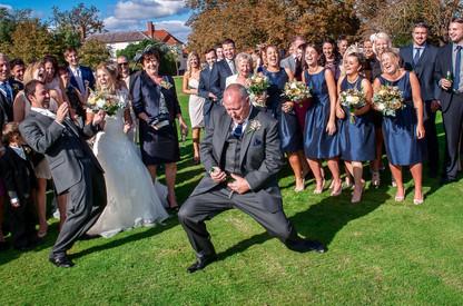 Air guitar wedding