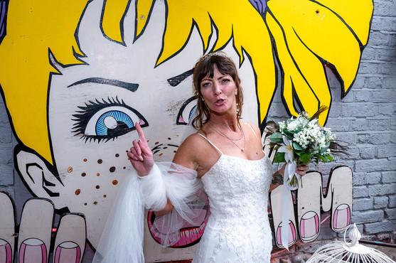 Graffiti Bride