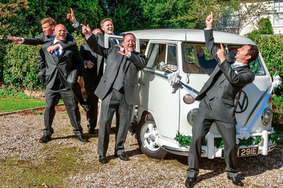 The boys and the campervan