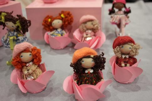 Moppet Dolls, handmade cloth dolls exhibition 2018 Paris