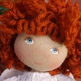 Moppetdolls, miniature Handmade cloth dolls, Handicraft fabric small doll, mini rag art doll for dollhouse, tiny dolls handcrafted, teeny cloth doll, dollhouse doll 1:12
