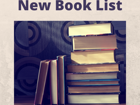 New Book List for May!!!!!