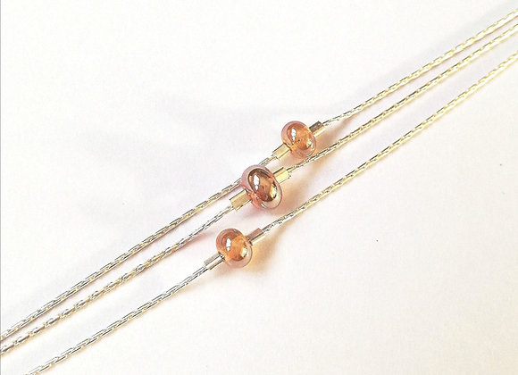 Bracelet triple chaîne