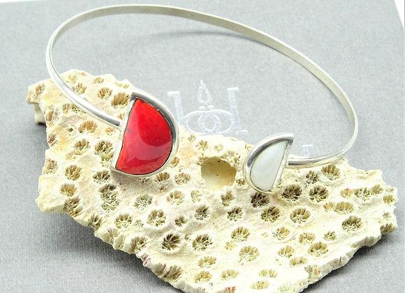 Bracelet jonc Graphique