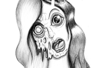 The Girl With The Melting Face (2014)