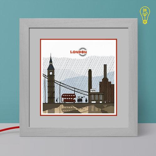 London Illustrated Light Box