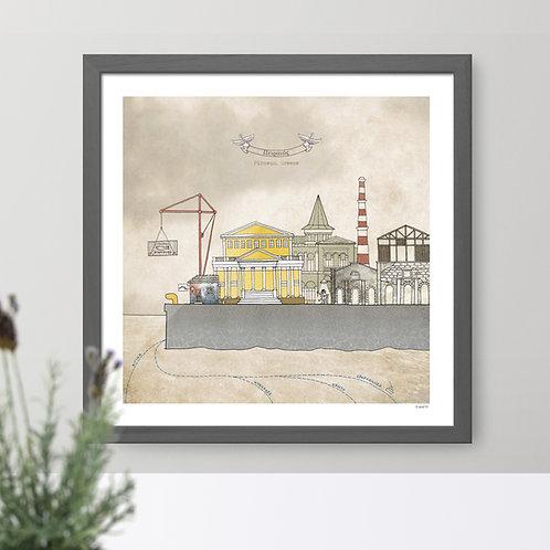 Piraeus print