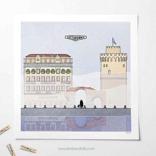 Thessaloniki print