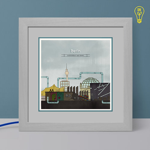Berlin Illustrated Light Box
