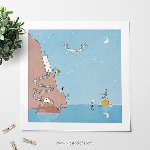 Amorgos print