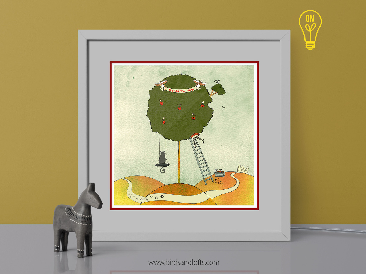 """The Apple Tree"" Lightbox"