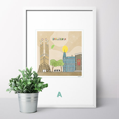 Last pieces: A4 Prints - World