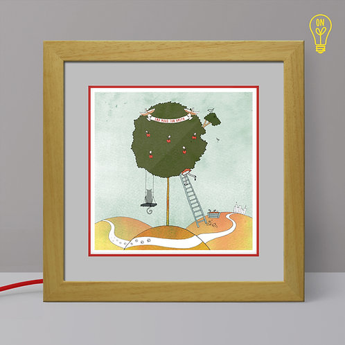 Apple Tree Illustrated Light Box