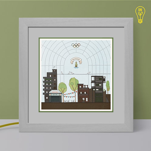 Pagkrati Illustrated Light Box