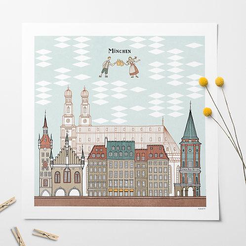 Munich print