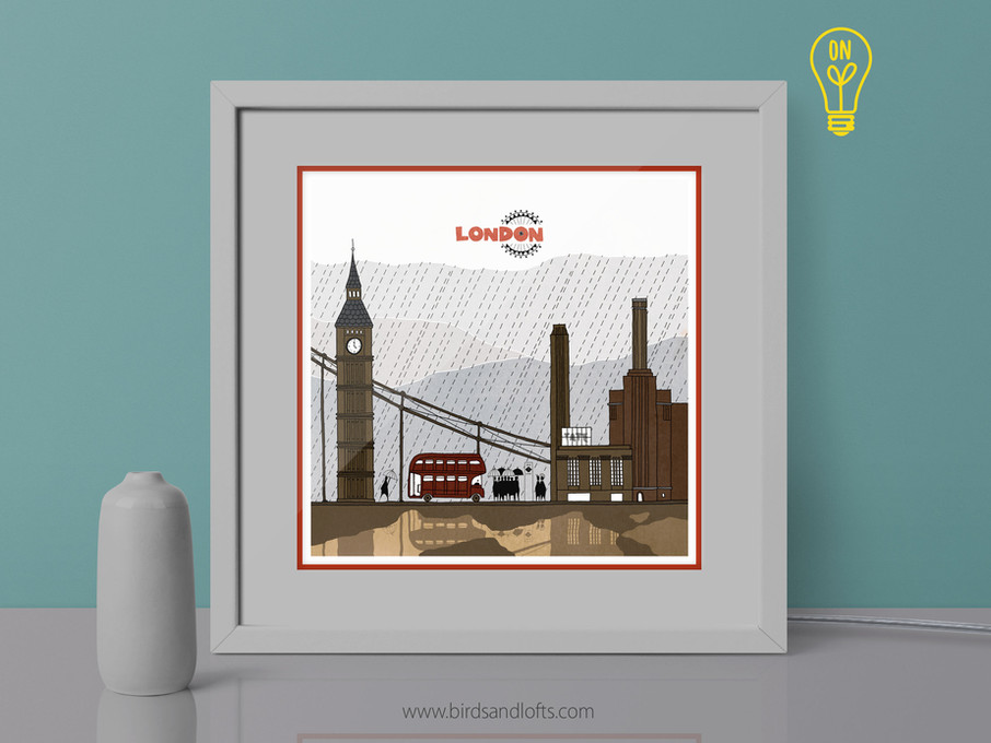 London Light Box - ON