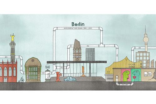 Berlin XL print