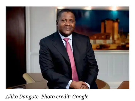 Dangote Refinery among 20 world's most influential projects