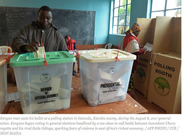Kenya spent $536m for 2 elections in 2017 : Treasury
