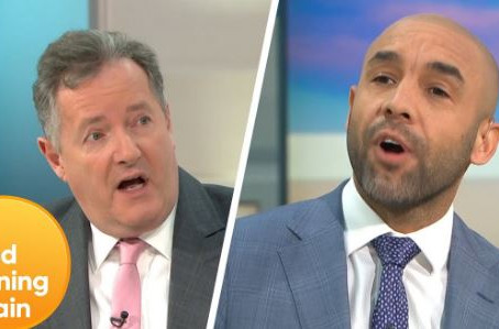 Piers Morgan leaves British breakfast show after Meghan comments
