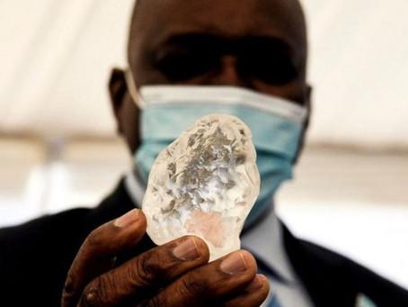 'Third Largest Diamond' Ever Seen Found in Botswana Mine