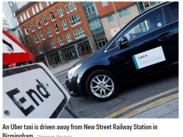 UK city Birmingham wants further details from Uber before license decision