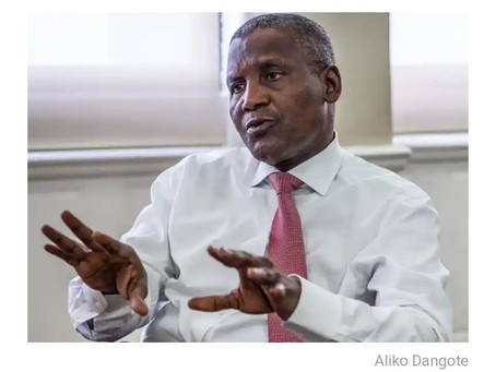 Dangote: Nigeria to Save $2.5bn Annually from Petrochemical, Fertiliser Plants