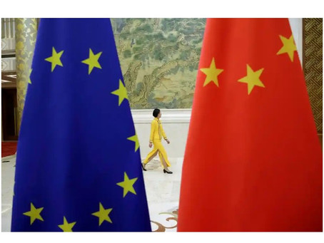 EU-China investment deal talks stalled