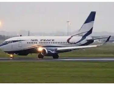 Air Peace Makes First Landing At Anambra Airport