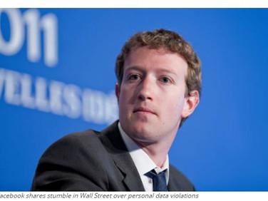 Facebook shares fall, Zuckerberg loses $5b
