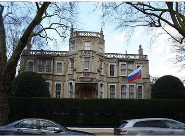 Russian Embassy Asks UK Authorities For Information On Salisbury Poisoning