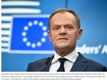 EU Chief Urges Trump To 'Make Trade, Not War'