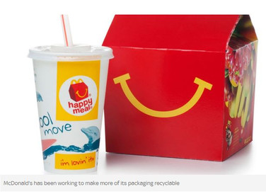 McDonald's to start phasing out plastic straws from its UK restaurants