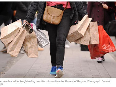 UK retailers suffer sharpest sales drop for 22 years in April