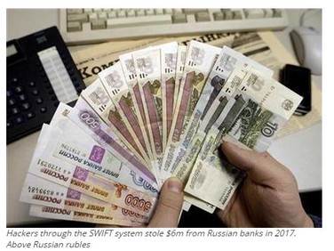 Hackers steal $6m from Russian banks