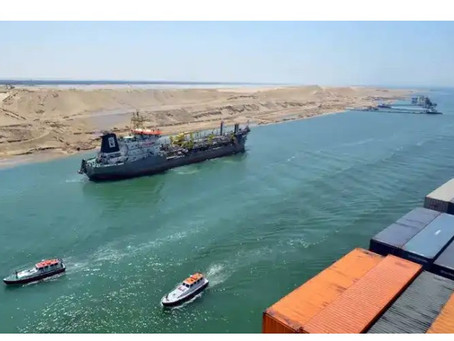 Suez Canal: Ships stuck in 'traffic jam' as salvage efforts continue