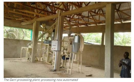 Nigerian firm automates garri production   Oakmark Global